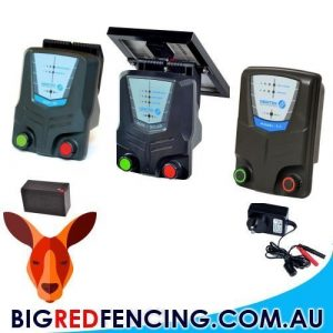 Mains or Battery Powered Electric Fence Energisers