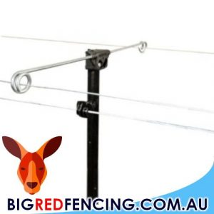 ELECTRIC FENCE OFFSET OUTRIGGER INSULATORS
