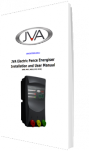 JVA Electric Fence Energiser Installation and Fencing Instructions PDF