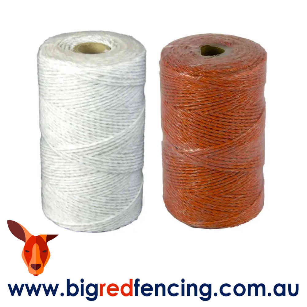 VA Electric fence poly wire roll SP015 White and SP014 Orange
