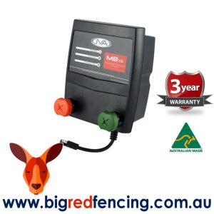 JVA MB1.5 Mains Battery Electric Fence Energizer 1.5 Joule15km