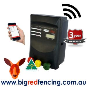 JVA MB12 120km Mains or Battery Powered Electric Fence IP Energizer 12 Joule PTE2141