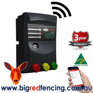 JVA MB16 160km Mains or Battery Powered Electric Fence IP Energizer 16 Joule PTE2157