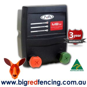 JVA MB3 30km Mains or Battery Powered Electric Fence Energiser PTE2255