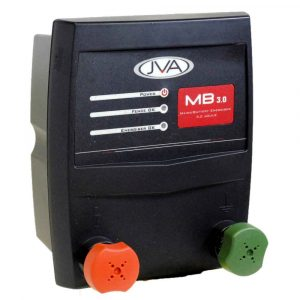 JVA MB3 30km Mains or Battery Powered Electric Fence Energiser PTE2255 front