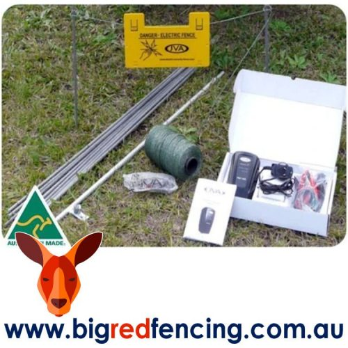 JVA PET100 Portable Pet and Dog Electric Fence Kit PTE2237 PTE2279