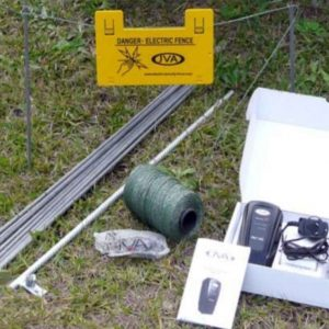 JVA PET100 Portable Pet and Dog Electric Fence Kit PTE2237 PTE2279 2