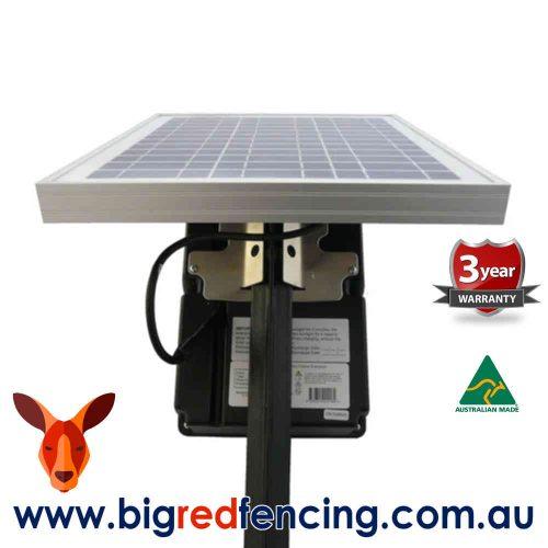 JVA SV10 8km Solar Powered Electric Fence Energiser - 1.1 Joule 1