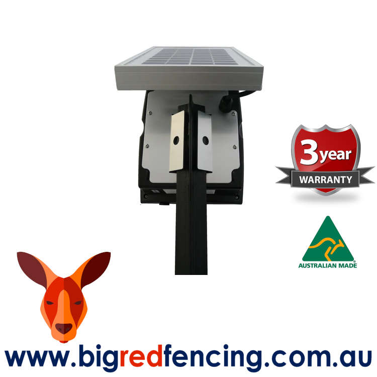 JVA SV2 2km Solar Powered Electric Fence Energiser - star picket mount 0.2 Joule PTE2234
