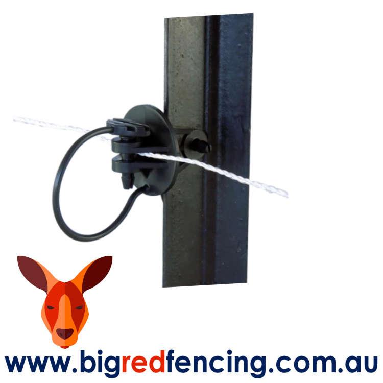 JVA Star Picket Pin Lock Insulator SP001 on star picket