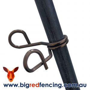 JVA fibreglass post and spring clips for garden pet electric fences N-N0010 and N-FID001