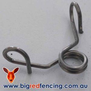 JVA fibreglass post spring clips for garden pet electric fences N-N0010