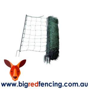 NEMTEK 50 METRE ROLL SHEEP AND GOAT ELECTRIC FENCE NETTING AA-NET108