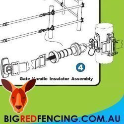 Nemtek electric fence Flexi Gate System - extends 5.5 - 11 metres 2