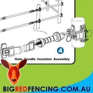 NEMTEK ELECTRIC FENCE FLEXI GATE KIT EXTENDS 5.5 - 11 METRES AA-FGS-1 ASSEMBLY DIAGRAM