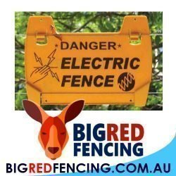 Big Red Electric Fence Supplies Australia 1