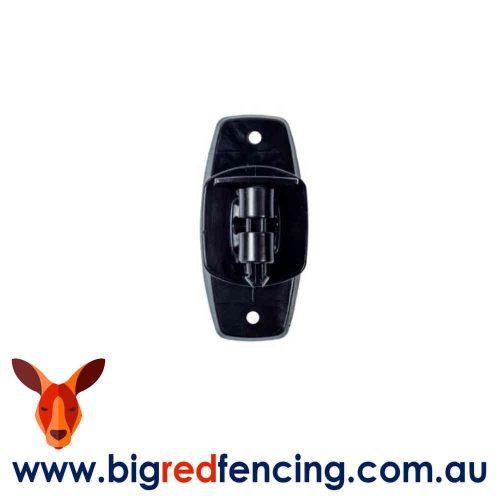 NEMTEK ELECTRIC FENCE WOOD POST PINLOCK INSULATORS AI-TWRI/B BLACK