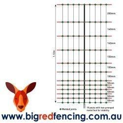 Nemtek 50 METRE ROLL OF CHCIKEN Poultry Electric Fence NETTING MESH SIZES AA-NET112