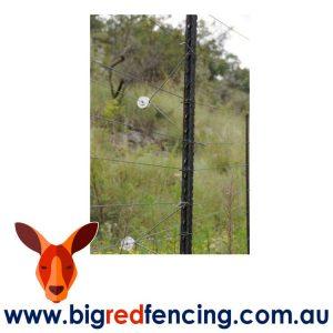 Nemtek 50 x Electric Fence Offest Bracket - 225mm Single EY-OS225 on fence