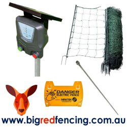 Nemtek 50m Solar Poultry Electric Fence Kit