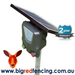 Nemtek Agri 8km Solar Powered Electric Fence Energiser AE-SB008 side