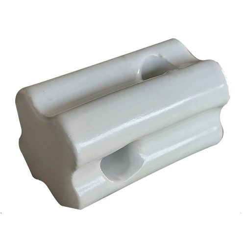 Nemtek Ceramic Electric Fence End Strainer Bull Nose EI-STFP or EI-STFP10
