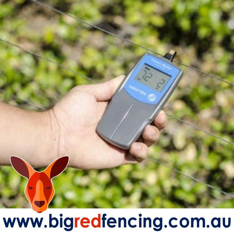 Nemtek Electric Fence Tester and Volt Meter testing TL-FM
