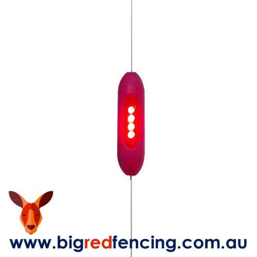Nemtek Fence Warning Light - Timed Flasher for electric fence SR-FL-TL-SS Flashing