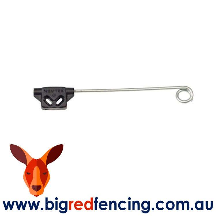 Nemtek Electric Fencing Offset Bracket Insulator - Single Live Tip AA-YP-LIVE-S