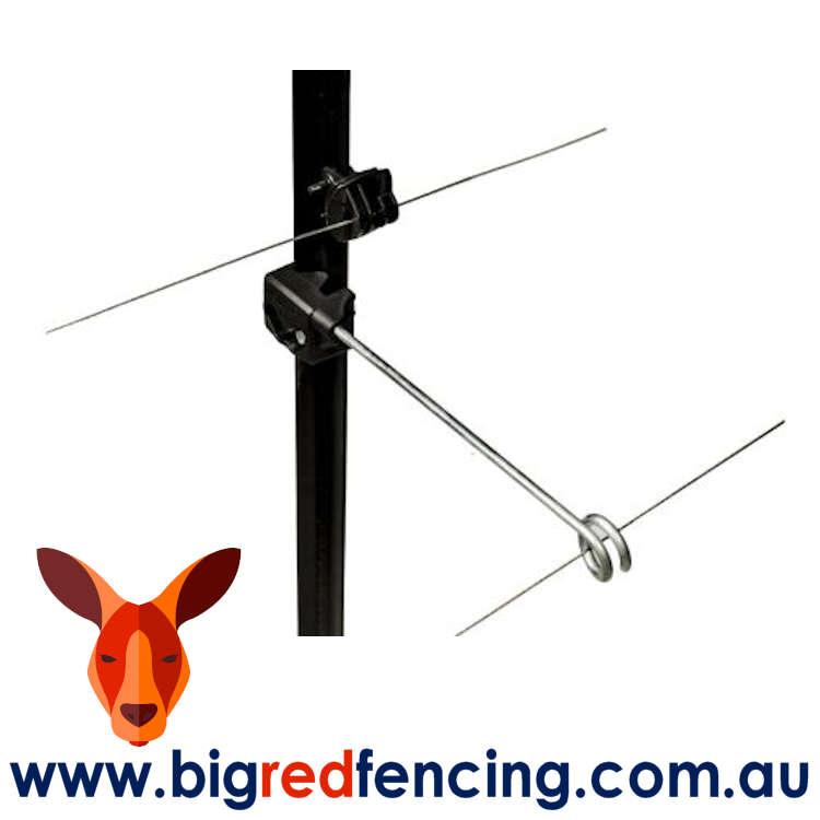 Nemtek Fencing Offset Bracket Insulator - Single Live Tip AA-YP-LIVE-S on Post