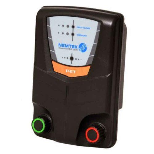Nemtek Pet 3 Electric Fence Energiser Mains or Battery Powered MPN AE-A-PET