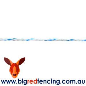 Nemtek Electric Fence Poly Braid Mix6 3.5mm 550m roll AW-PBRMIX6/550M