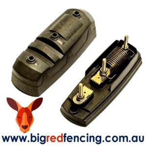 Nemtek Single pole lightning protection for electric fences showing inside EA-LID