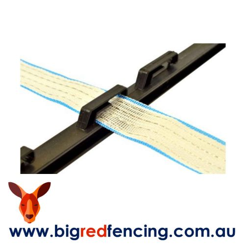 Nemtek Tred In Electric Fence Post 1200mm Black AA-PP-B with 40mm poly tape
