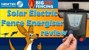 Nemtek solar electric fence energiser reviews Australia