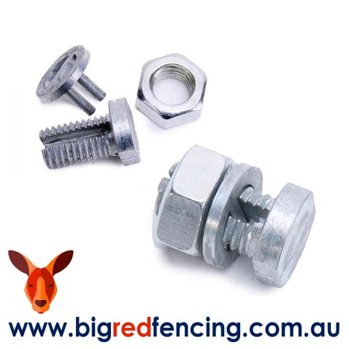PROTECT FENCING ELECTRIC FENCE AUSTRALIA CONNECTION SPLIT BOLT JOINER PARTS