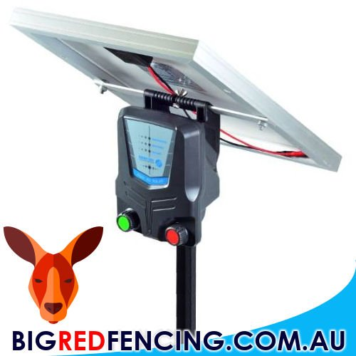Solar Powered Electric Fence Energisers