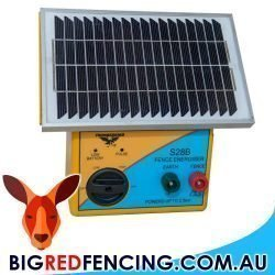 THUNDERBIRD S28B 2.5KM SOLAR POWERED ELECTRIC FENCE ENERGISER