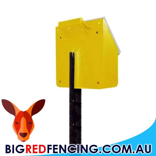 THUNDERBIRD S28B 2.5KM SOLAR POWERED ELECTRIC FENCE ENERGISER STAR PICKET MOUNT