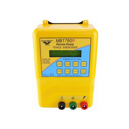Thunderbird 135km MB Mains or Battery Operated Electric Fence Energiser MB1760R