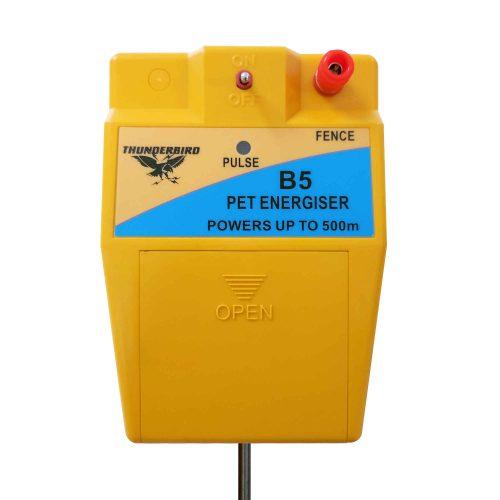 Thunderbird B-5 Battery Powered Electric Fence Energiser Dog & Pet Safe