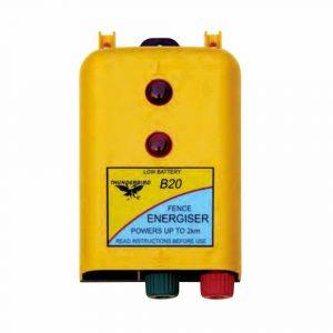 Thunderbird B20 Battery Powered Electric Fence Energiser B-20