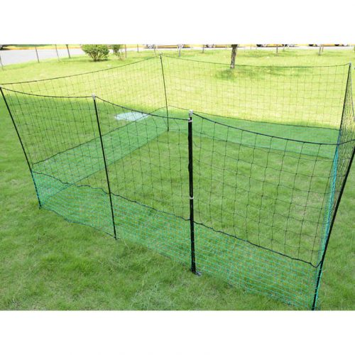 Thunderbird Electric Poultry Pet Netting With Gate 25m Roll EF-PNET-25M Closed Electric fence Gate