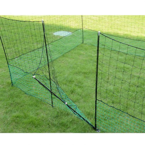 Thunderbird Electric Netting With Gate 25m Roll EF-PNET-25M Gate Open