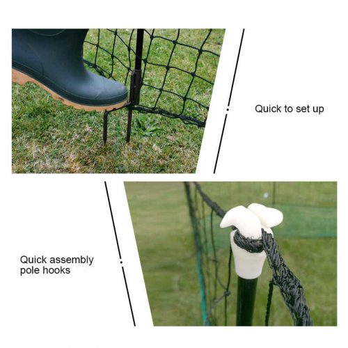 Thunderbird Electric Netting With Gate 25m Roll EF-PNET-25M Gate and Posts