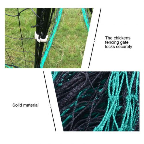Thunderbird Electric Poultry Pet Netting With Gate 25m Roll EF-PNET-25M Solid Materials